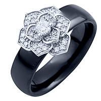 Серебряное кольцо SilverAlex с , керамикой (1764985) 17 размер