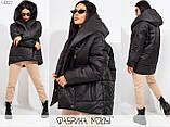 Теплая женская куртка с капюшоном раз. S.M, фото 5