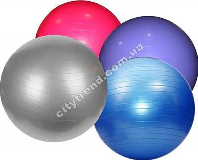 Фитбол (мяч для фитнеса) Zel гладкий 75 см глянцевый