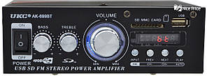 Усилитель звука UKC AK-699BT MP3 FM Bluetooth Black