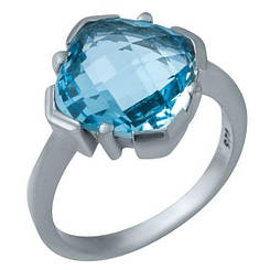 Серебряное кольцо pSilverAlex с натуральным топазом (1936887)