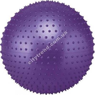 Фитбол (мяч для фитнеса) Zel масажный 75 см