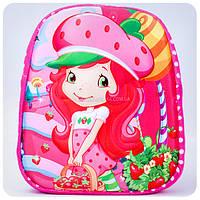 Рюкзачок детский 3D «Шарлотта Земляничка»