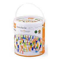 Набор строительных блоков Viga Toys Домино, 116 элементов (51620)