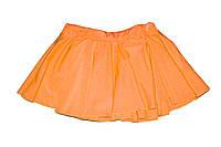 Юбка однослойная Оранжевый