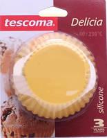 Tescoma. Форма для выпечки Tescoma Delicia силикон 9см 630648 6шт/уп (8595028439496)