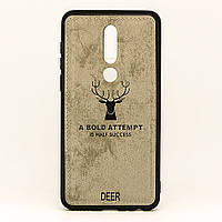 Чехол Deer для Meizu M8 / M813H бампер накладка Серый