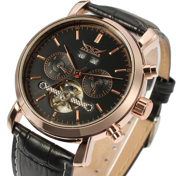 Круглые наручные часы в стиле классик для мужчин Jaragar