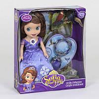 Кукла Принцесса с питомцами, со звуковыми и световыми эффектами, светится платье - 223774