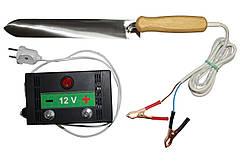 Нож Гуслия электрический ПРОФИ из нержавеющей стали — 280мм, с блоком питания Pulse
