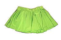 Юбка однослойная Зеленый