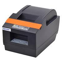 Принтер чеков с автообрезкой 58 мм (USB+LAN) Xprinter XP-Q90EC