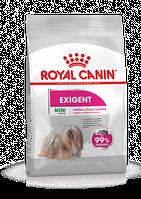 Корм Роял Канін Міні Ексіджент Royal Canin Mini Exigent для вибагливих собак дрібних порід 3 кг
