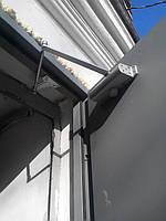 Установка доводчика при не стандартной конструкции двери