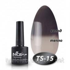 Термо гель лак для ногтей Nice TS-15
