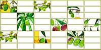 Панель ПВХ Регул Плитка оливка 0,4х477х957мм