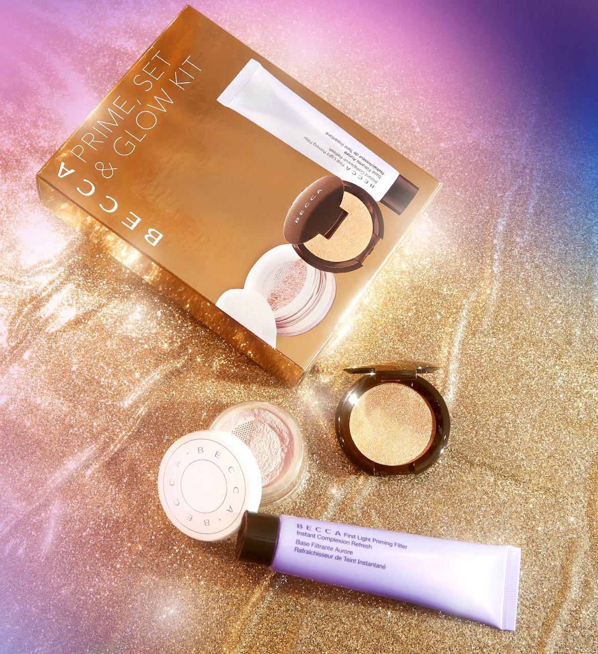 Набір для макіяжу Becca prime,set kit glow