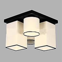 Люстра потолочная на четыре лампы 29-H178/4B BK+MIX