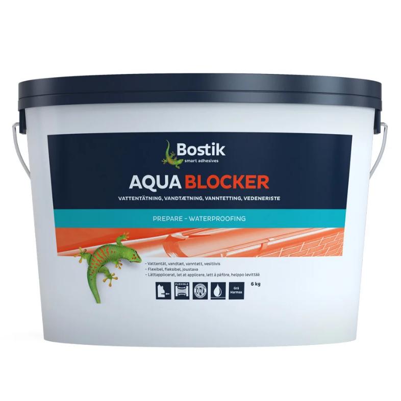 Мастика для кровли Bostik Аqua Bloсker, 6 кг