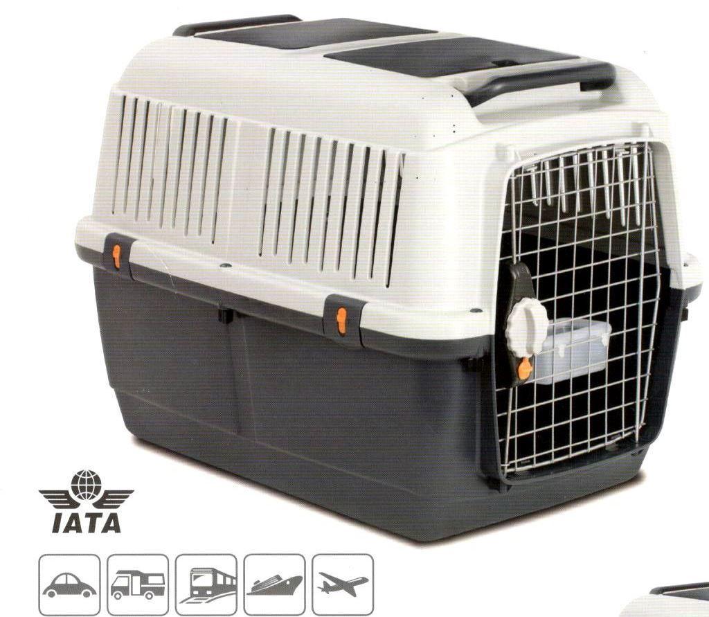 Переноска  BRACCO TRAVEL 6, IATA, для собак вагою до 40 кг, 92х64х67,5см