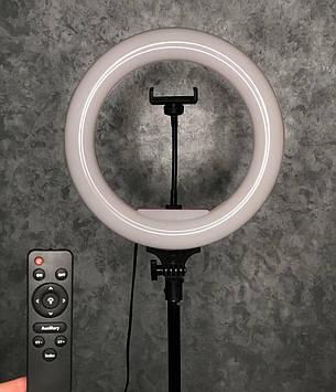 Кільцева світлодіодна LED Лампа 32 см кільцевої світло, селфи лампа Pink Рожева
