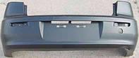 Бампер задний Mitsubishi Lancer X -12 sdn (седан) без отверстий под парктроник (FPS)