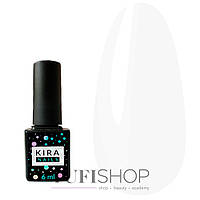 Гель-лак Kira Nails №036 - белый, 6 мл