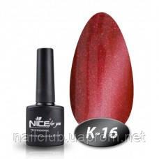 Кошачий глаз гель лак для ногтей Nice К-16