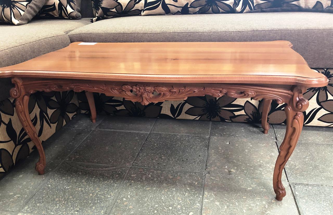 Журнальний столик дерев'яна яний буковий