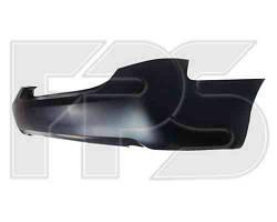 Бампер задний Toyota Camry XV40 черный (два выхлопа) (пр-во FPS)