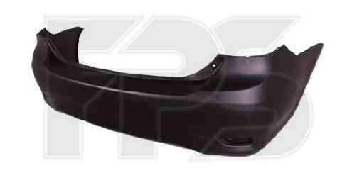Бампер задний Toyota Corolla E14/E15 с отверстиями под прямойгольные катафторы (FPS)
