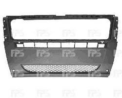 Бампер передний Ducato/Jumper/Boxer 06- (средняя часть) без решетки (FPS)
