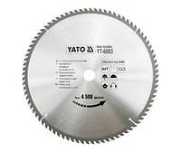 Диск пильный по дереву YATO YT-6083 (Польша)