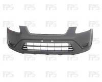 Бампер передний Honda CRV -06 черный с/без отверстиями под противотуманные фары (FPS)