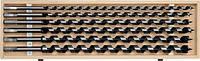 Набор спиральных сверл по дереву 10-20 мм 6 шт YATO YT-3299 (Польша)