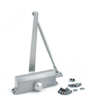 Доводчик MRC-4065, усилие 40-65 кг, серебро