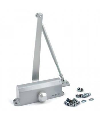 Доводчик MRC-4065, усилие 40-65 кг, серебро, фото 2