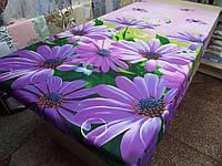 Ткань для пошива постельного белья Ранфорс Герберы, фото 1