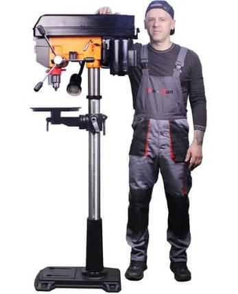 Напольный сверлильный станок с вариатором WorkMan DP15VL, фото 2