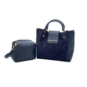 Мягкая сумочка с отстегивающейся косметичкой