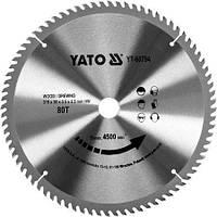 Диск пильный по дереву 315 мм YATO YT-60794 (Польша)