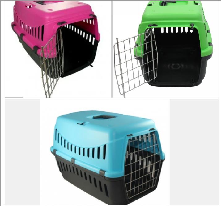 Переноска  GIPSY 1 small для собак та котів, металеві дверцята, 44x28,5x29,5 см