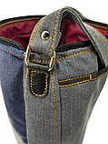Джинсова сумка ЕКЗОТ, фото 5