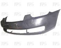 Бампер передний Hyundai Accent 06-10 без решетки (FPS)