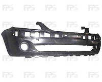 Бампер передний Hyundai Getz 02- черный с отверстиями под противотуманные фары (FPS)