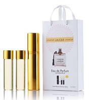 Мини-парфюм с феромонами женский LALIQUE L'Amour 3х15 мл