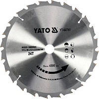 Диск пильный по дереву 315 мм YATO YT-60790 (Польша)