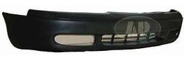 Бампер передний Mazda 626 92-97 черный (FPS). GA8L50031A