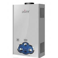 Газовая колонка Dion JSD 08 дисплей бело-голубая
