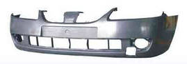 Бампер передний Nissan Almera 00-06 (N17) (FPS). 62022BN700